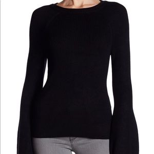 Philosophy Sweaters - Philosophy ribbed bell-sleeve sweater, size XS❤️